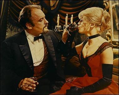 Rod Steiger como Komarovski, el corruptor de Lara