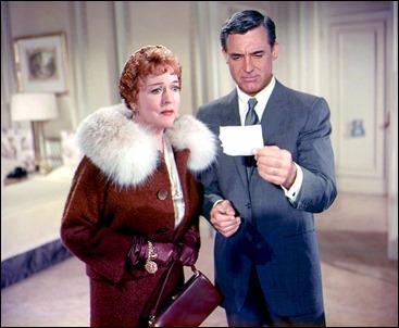 Roger Thornhill y mamá, o sea, Cary Grant y Jessie Royce Landis