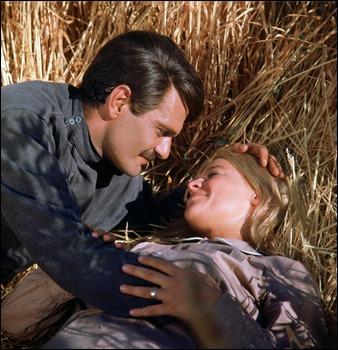 Una de las fotos más famosas de Zhivago y Lara