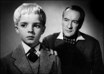 George Sanders y su hijo, Martin Stephens