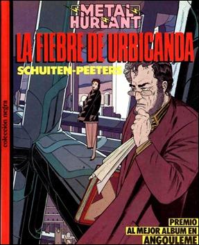 La fiebre de Urbicanda en su vieja edición de Metal Hurlant