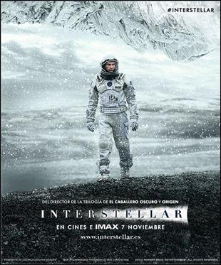 Matthew McConaughey en el poster de Interstellar