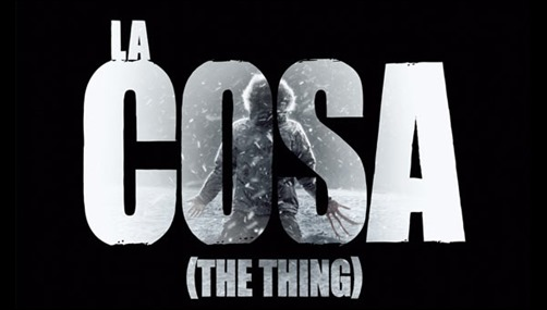 Buen afiche de La cosa 2011