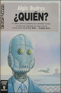 Edición española de Quién, la novela de Algis Budrys