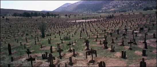 El genial cementerio donde concluye El bueno, el feo y el malo