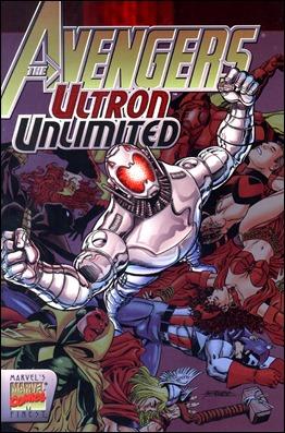 El Ultron del comic, por su mejor dibujante, George Perez