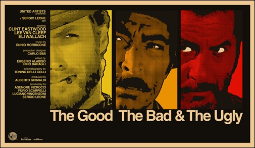 Los rostros de Eastwood, Van Cleef y Wallach