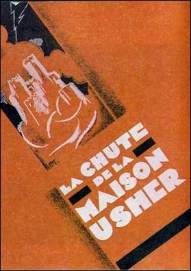 Cartel de La chute de la maison Usher
