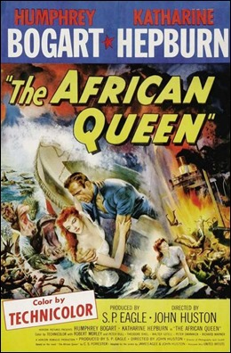Cartel exageradamente épico de La Reina de África