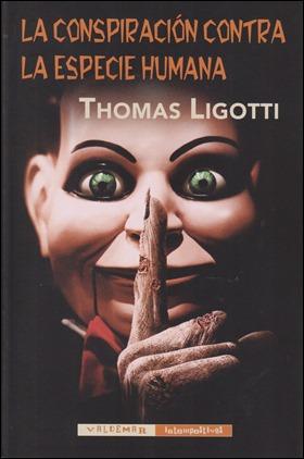 Edición de Valdemar de La conspiración contra la especie humana
