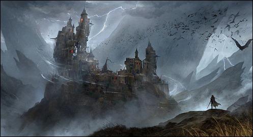 El castillo de Drácula, por Kabuto