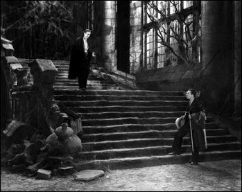 El derruido castillo de Drácula