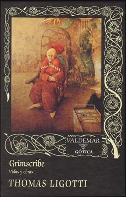 José Hernández en la portada de Grimscribe, de Valdemar
