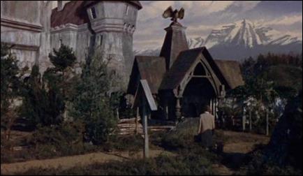 El castillo de Drácula, versión 1958