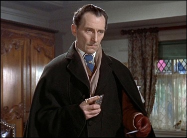 El gran Peter Cushing como Van Helsing