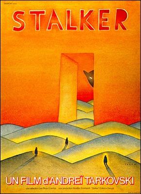 Estupendo poster francés de Stalker