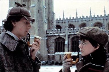 Los jóvenes Holmes y Watson