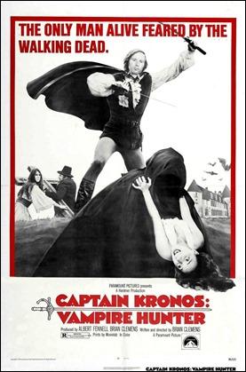 Poster de Capitán Kronos, cazador de vampiros