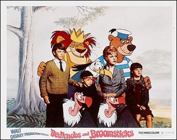 Dibujos animados y personajes reales conviven en La bruja novata