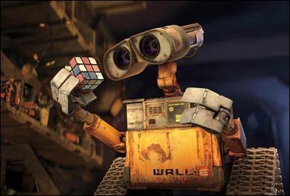 El inolvidable Wall-E, modesto héroe de la mejor película de Pixar