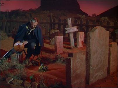 La inmortal escena de Nathan Brittles y la tumba de su esposa