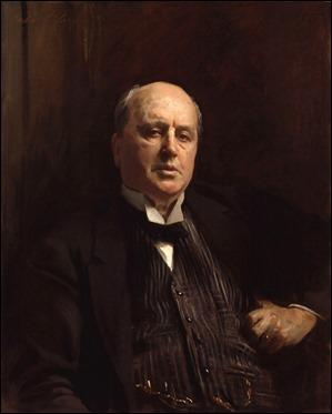 Retrato de Henry James, por John Singer Sargent