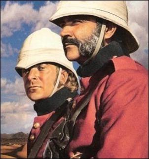 Caine y Connery, a cuál más inolvidable