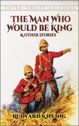 Edición en inglés de El hombre que quiso ser rey