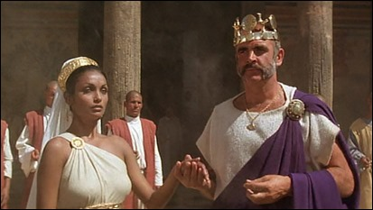 El rey y su aterrorizada reina