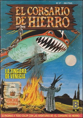 Estupenda portada de La zíngara de Venecia