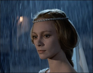Francesca Annis, estupenda lady Macbeth
