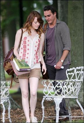 Joaquin Phoenix y Emma Stone, los protagonistas de Irrational Man