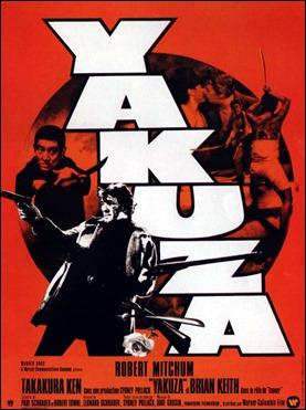 Otro estupendo cartel, francés ahora, de Yakuza