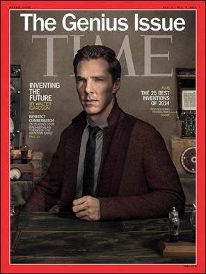 Portada de la revista Time acerca de la película y el biografiado