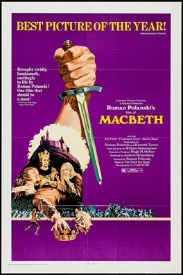 Poster de Macbeth, versión Polanski