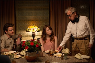 Woody Allen dirigiendo Irrational Man