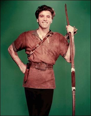 Burt Lancaster como Dardo, en El halcón y la flecha