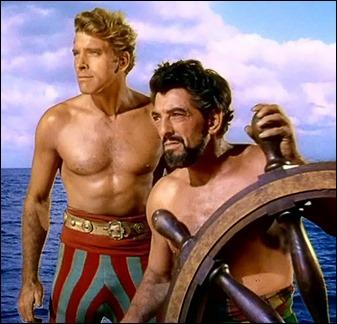 Burt Lancaster y su camarada Nick Cravat
