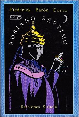 Portada de Adriano VII en El ojo sin párpado, de Siruela