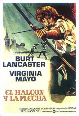 Poster de El halcón y la flecha