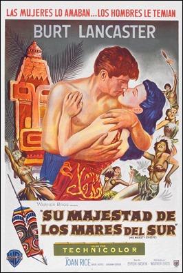 Poster de Su Majestad de los mares del sur