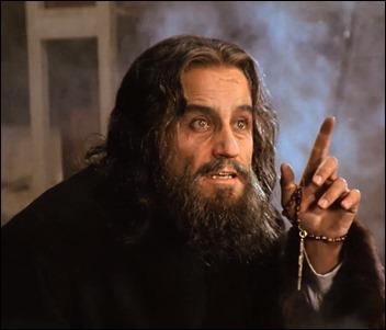 Alberto de Mendoza es el monje maldito