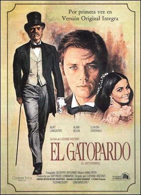 Cartel español de El Gatopardo