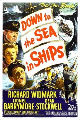 El demono del mar, poster americano