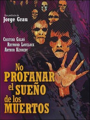 El estupendo cartel de No profanar el sueño de los muertos