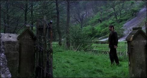 La primera aparición de un zombi en la película