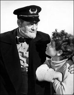 Lionel Barrymore y Dean Stockwell como abuelo y nieto