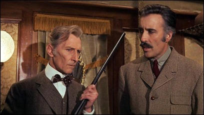 Peter Cushing y Christopher Lee unen esfuerzos gracias a un film español