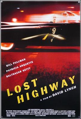 Poster americano de Carretera perdida