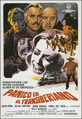 Poster español de Pánico en el Transiberiano
